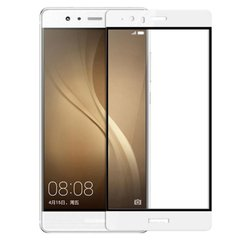 3D стекло для Huawei P9 Full Cover white