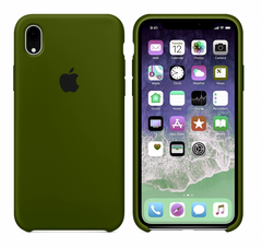 Чехол Apple silicone case for iPhone XR Virid