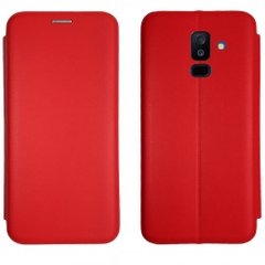 Чехол-книжка Level for Samsung A6 Plus 2018 Red