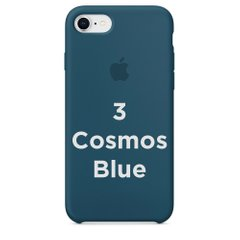 Чехол Apple silicone case for iPhone 7/8 Cosmos Blue