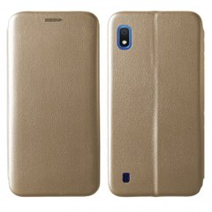 Чехол-книжка Level for Samsung A10 (A105F) Gold