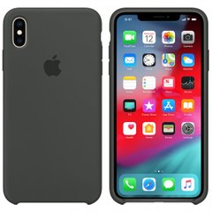 Чехол Apple silicone case for iPhone XR Pebble