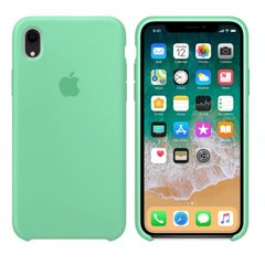 Чехол Apple silicone case for iPhone XR Spearmint