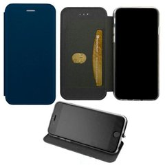 Чехол-книжка Elite Case Nokia 3.1 Plus темно-синий