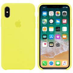 Чехол Apple silicone case for iPhone X/XS  Flash