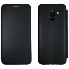 Чехол-книжка Level for Samsung A6 Plus 2018 Black